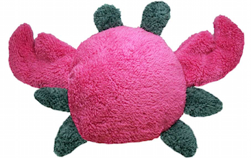 Plush Fuzzy Crab