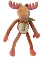 Organic Cotton Plush Holiday Moose