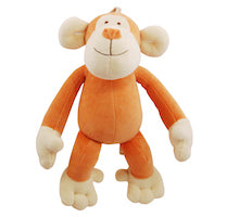 Organic Cotton Plush Monkey