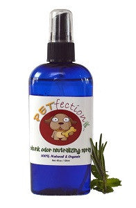 Chemical Free Skunk Odor Neutralizing Spray for Dogs