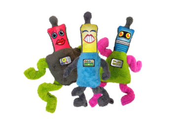 Plush Springy Robot Toy