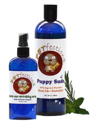 PETfection Natural and Organic Dog Skunk Odor Remover Spray and Dog Shampoo