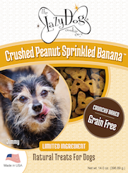 Crushed Peanut Banana Treats