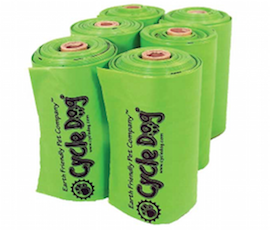 Biodegradable Dog Poop Bag Rolls