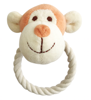 Organic Cotton Monkey Rope Toy