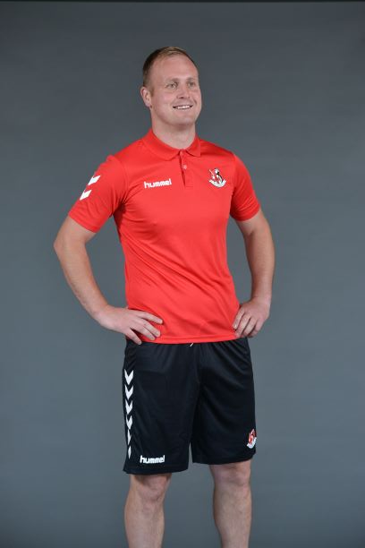 Crusaders FC Polo Shirt (RED) - Crusaders FC