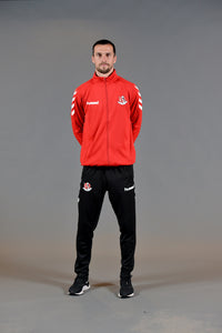 Crusaders FC Track Top (full zip) - Crusaders FC