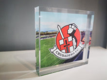 Load image into Gallery viewer, Crusaders FC Club Crest 3D Acrylic - Crusaders FC