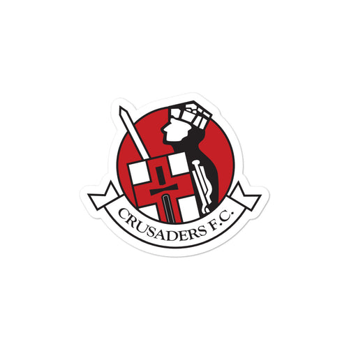 Bubble-free stickers - Crusaders FC