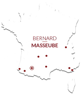 Map Bernard