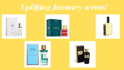 Our top uplifting January scents!