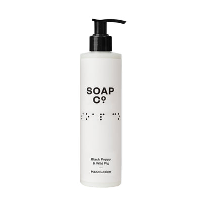 The Soap Co Black Poppy & Wild Fig Hand Lotion 300ml