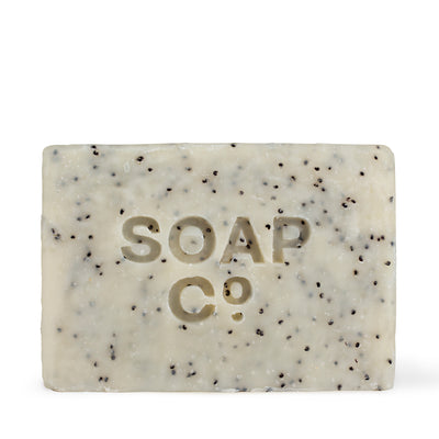 The Soap Co Black Poppy & Wild Fig Bar Soap 125g