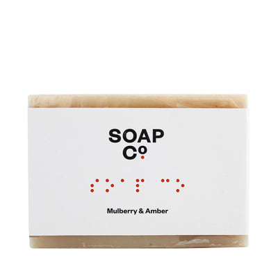 The Soap Co Mulberry & Amber Bar Soap 125g
