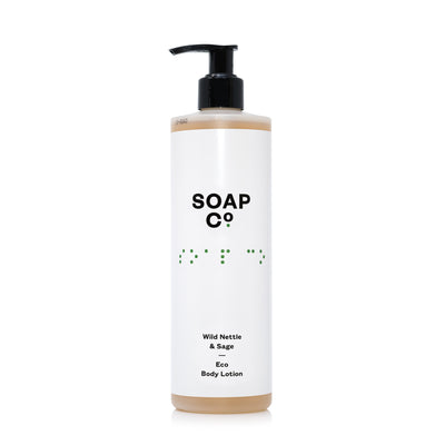 The Soap Co Wild Nettle & Sage Body Lotion 400ml
