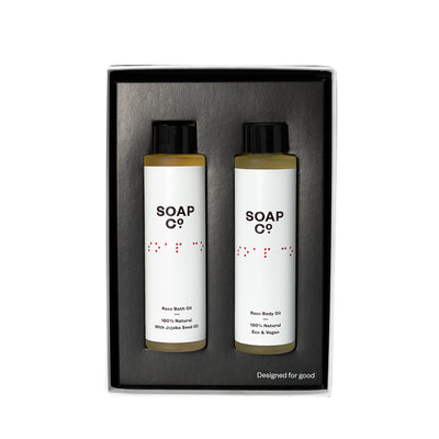 The Soap Co Rose Oil Duo Gift Set