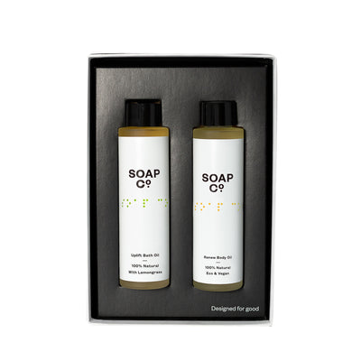 The Soap Co Uplift & Renew Oil Duo