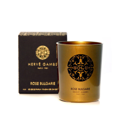 Hervé Gambs Rose Bulgarie Candle 190g
