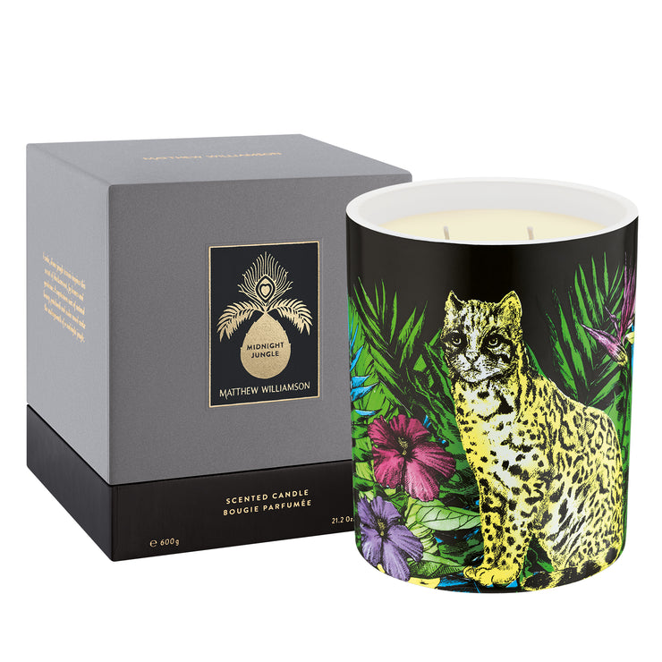Matthew Williamson Midnight Jungle Luxury Candle 600g