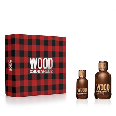 Dsquared2 Wood Pour Homme X20 EDT 100ml Set 2