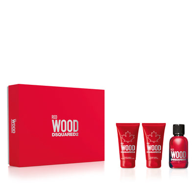 Dsquared2 Red Wood X20 EDT 50ml Set