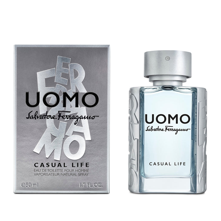 Salvatore Ferragamo Uomo Casual Life EDT 50ml Vapo
