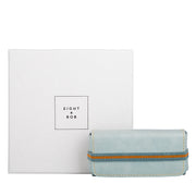 Eight & Bob Water Blue Leather Case