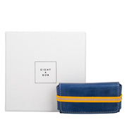 Eight & Bob Navy Blue Leather Case
