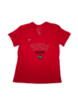 Youth Girl's Nike Red Tee