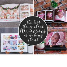 Load image into Gallery viewer, A4 Hardcover Photo Album book by LiMia Photography - Cape Town Photographer R1000