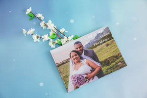 A4 LANDSCAPE PERSONALISED HARDCOVER