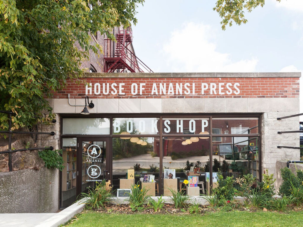 one of Toronto's best bookstores Anansi Bookshop