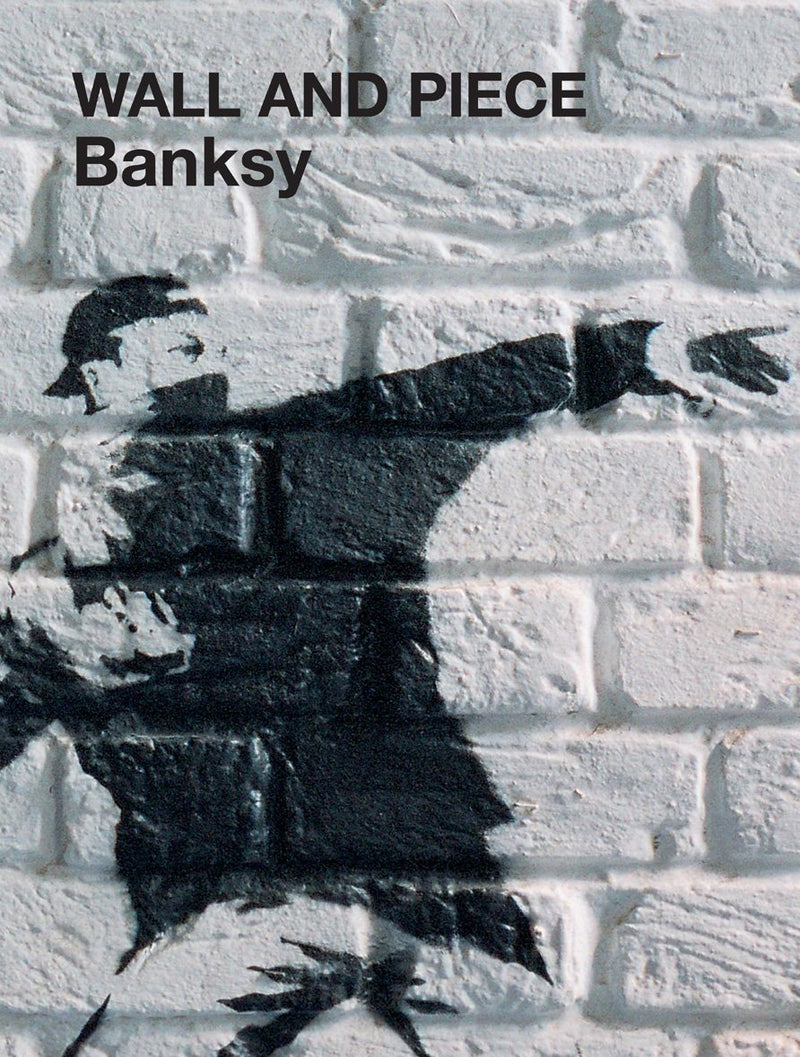 Cover of Banksy Wall and Piece