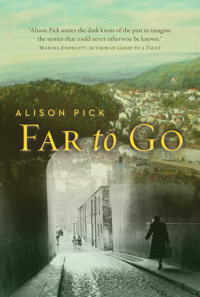 Cover of Far to Go First Edition Hardcover