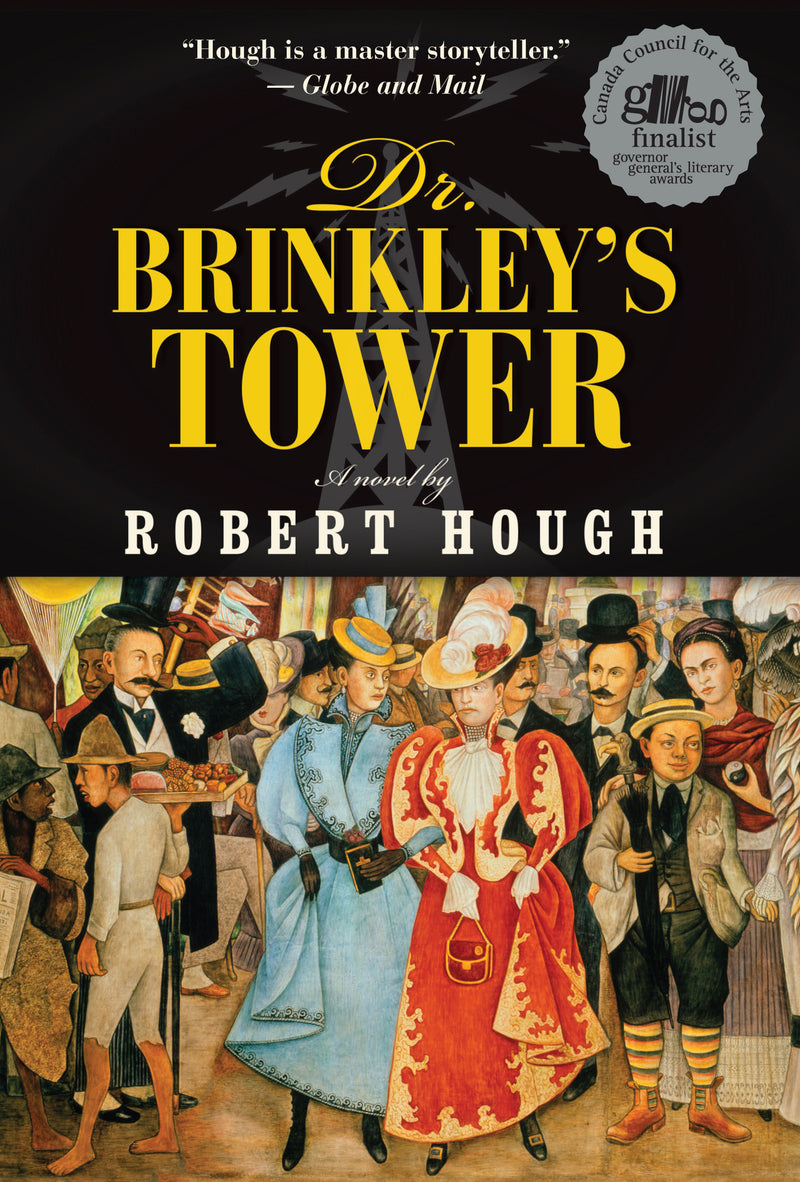 Cover of Dr. Brinkley's Tower Signed Paperback Edition