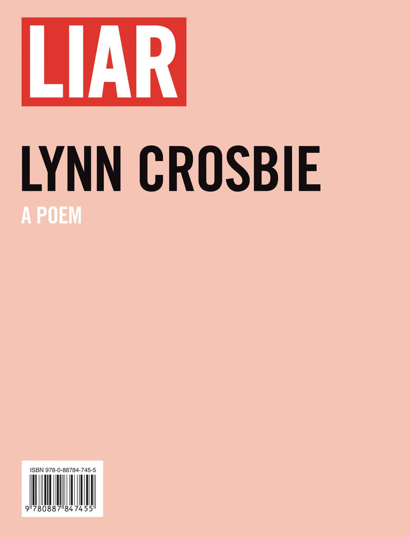 Cover of Liar Signed Edition