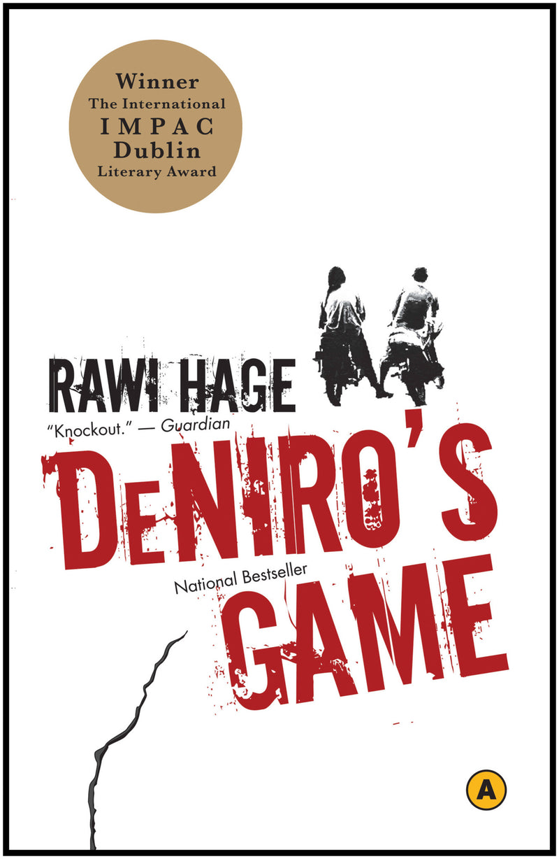 Cover of De Niro's Game Signed Paperback Edition