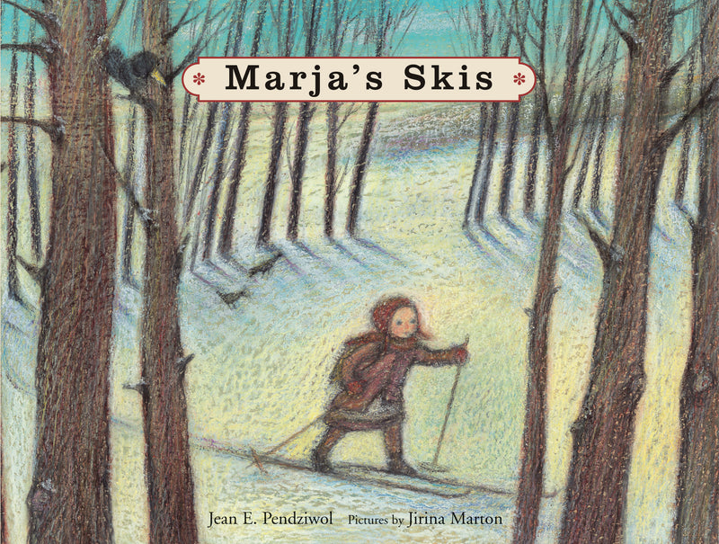 Cover of Marja's Skis Signed Hardcover Edition