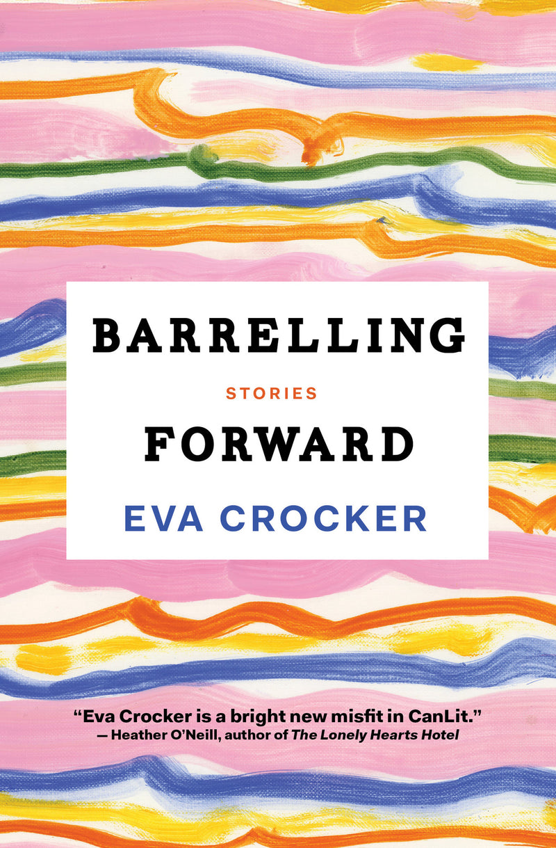 Cover of Barrelling Forward Signed First Edition Paperback