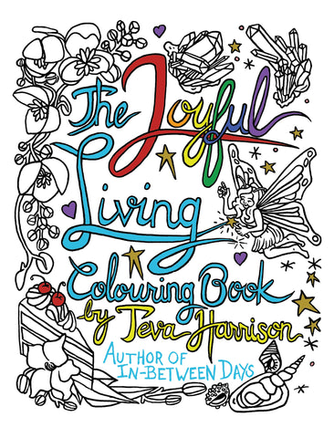 The Joyful Living Colouring Book Signed First Edition
