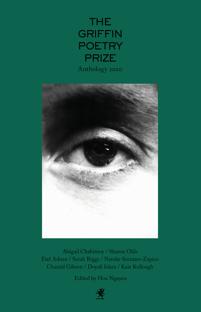 Cover of The 2020 Griffin Poetry Prize Anthology