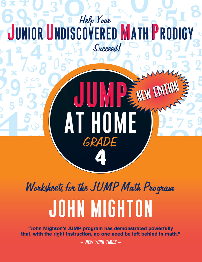 Cover of JUMP at Home: Grade 4 (PDF edition)