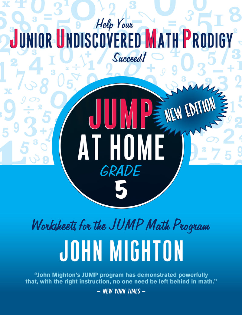 Cover of JUMP at Home: Grade 5 (PDF edition)