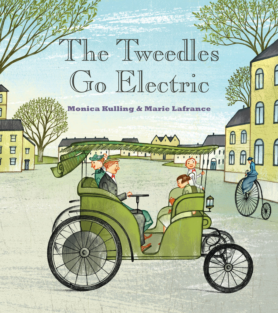 The Tweedles Go Electric Signed Hardcover Edition