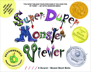 Super-Duper Monster Viewer Signed First Edition Hardcover