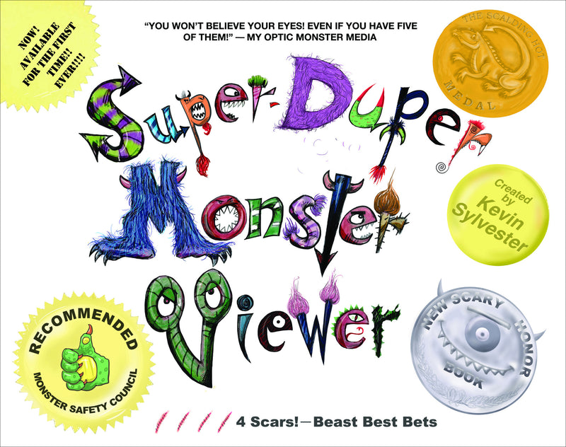 Cover of Super-Duper Monster Viewer Signed First Edition Hardcover