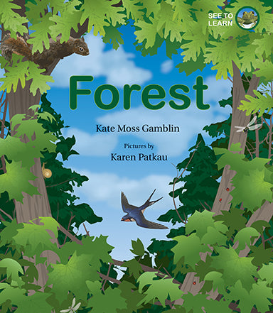 Cover of Forest: A See to Learn Book