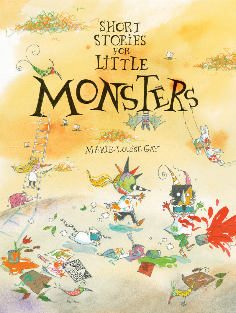 Cover of Short Stories for Little Monsters Signed First Edition Hardcover
