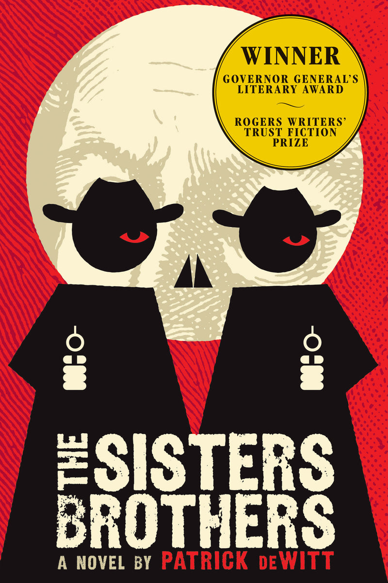 Cover of The Sisters Brothers Signed Trade Paperback With Flaps