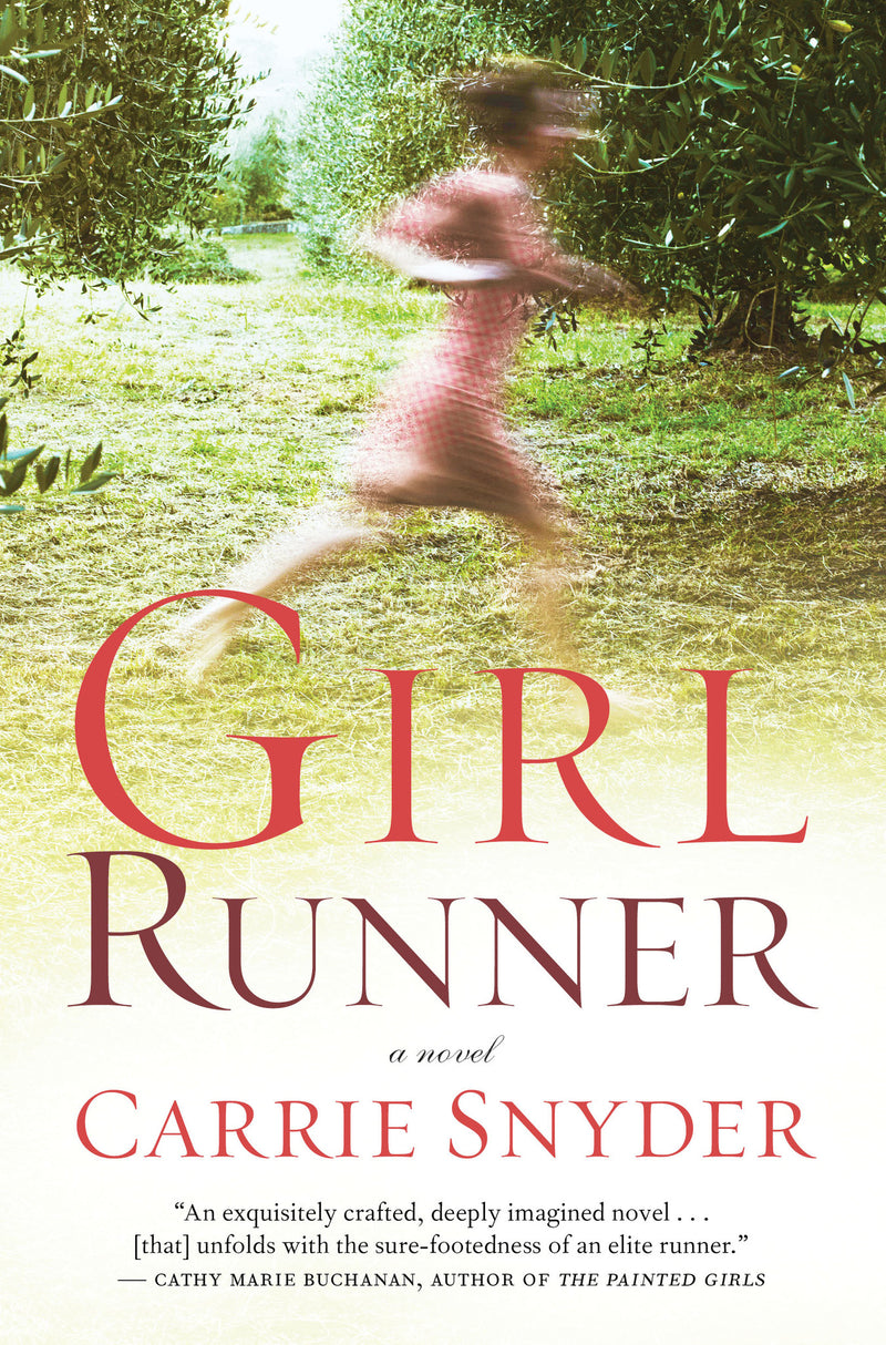 Cover of Girl Runner signed first edition hardcover